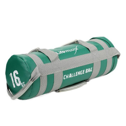 Lifemaxx Challenge Bag 16 kilogram Green LMX 1550.16  LMX1550.16