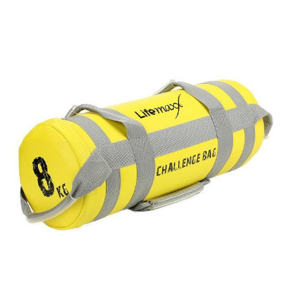 Lifemaxx Challenge Bag 8 kilogram Yellow LMX 1550.8  LMX1550.8