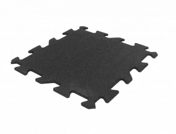 Lifemaxx Puzzelmat 10mm ECO rubber tegel (50 x 50 cm)  LMX1365