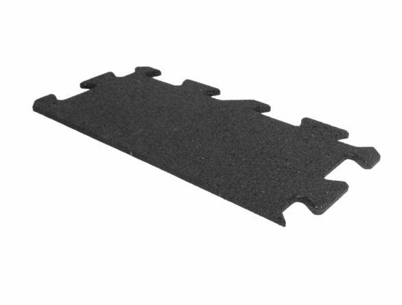 Lifemaxx Puzzelmat 10mm ECO rubber rand (50 x 25 cm)  LMX1366