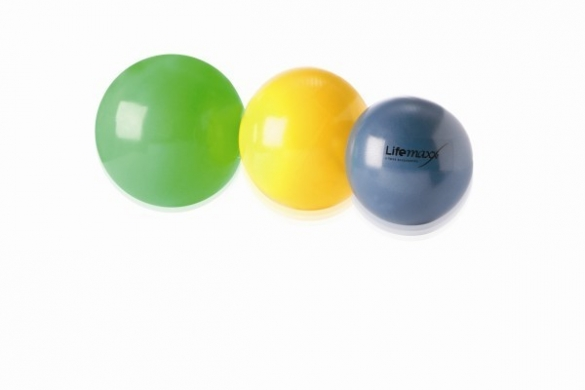 Lifemaxx Pilates Bal 20 cm Blauw LMX 1260.20  LMX 1260.20blauw