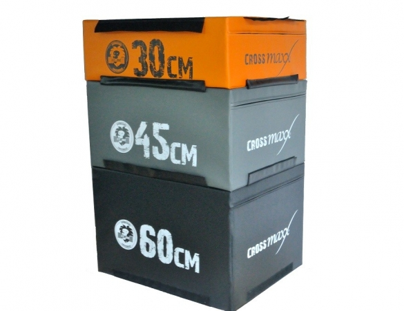 Lifemaxx Crossmaxx Soft Plyo Box Oranje 30 cm  LMX 1297.30