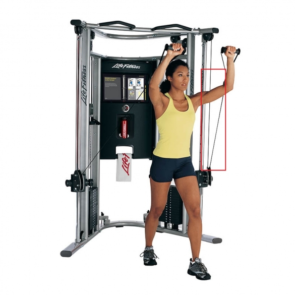 Life Fitness kabel voor G7 krachtstation  8265601CableBEBE