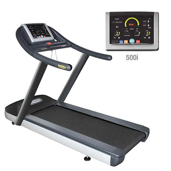 TechnoGym Loopband jog now Excite+ 500i zwart gebruikt  BBTGJNE500IZW
