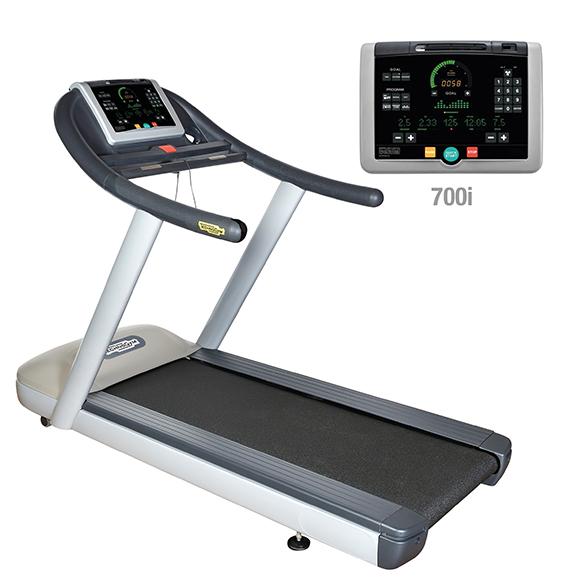TechnoGym Loopband jog now excite+ 700i zilver gebruikt  BBTGJNE700IZI
