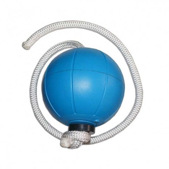 Loumet Rope Ball 1 kg - blauw  592001