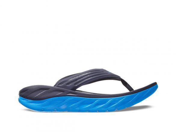 Hoka One One ORA Recovery Flip slippers blauw heren  1099675-EDNB