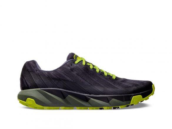 Hoka One One Torrent trail hardloopschoenen zwart/groen heren  1097751-EBLC