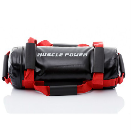 Muscle Power Power Bag 15 kilogram rood MP1030  MP1030