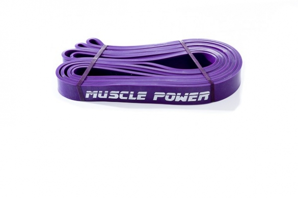 Muscle Power XL Power Band Paars Medium MP1402  MP1402-paars