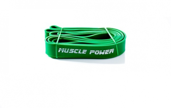 Muscle Power XL Power Band Groen Heavy MP1402  MP1402-groen