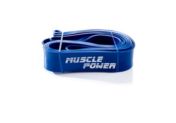 Muscle Power XL Power Band Blauw Extra Heavy MP1402  MP1402-blauw