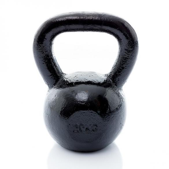 Muscle Power Gietijzeren Kettlebell 20 KG MP1300  MP1300-20