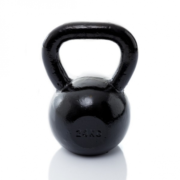 Muscle Power Gietijzeren Kettlebell 24 KG MP1300  MP1300-24