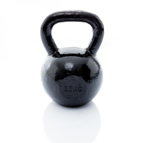 Muscle Power Gietijzeren Kettlebell 32 KG MP1300  MP1300-32