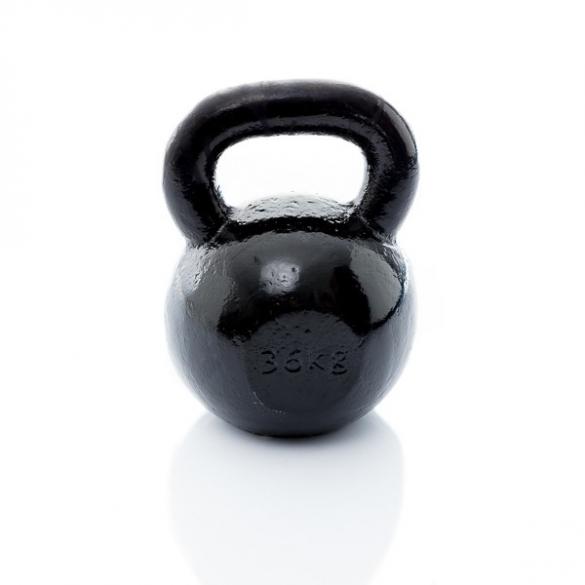 Muscle Power Gietijzeren Kettlebell 36 KG MP1300  MP1300-36