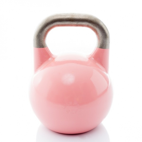 Muscle Power Competition Kettlebell Roze 8 KG MP1302  MP1302ROZE