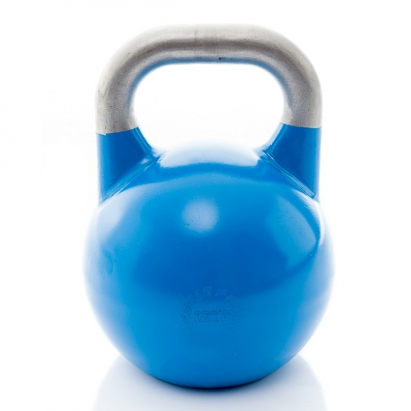 Muscle Power Competition Kettlebell Blauw 12 KG MP1302  MP1302BLAUW