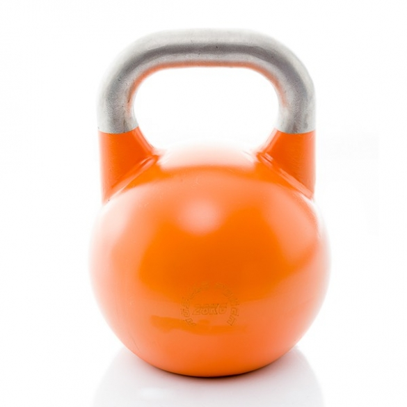 Muscle Power Competition Kettlebell Oranje 28 KG MP1302  MP1302ORANJE