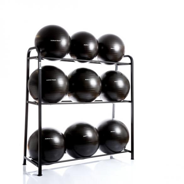 Muscle Power Opbergrek voor 9 Gymballen MP949  MP949