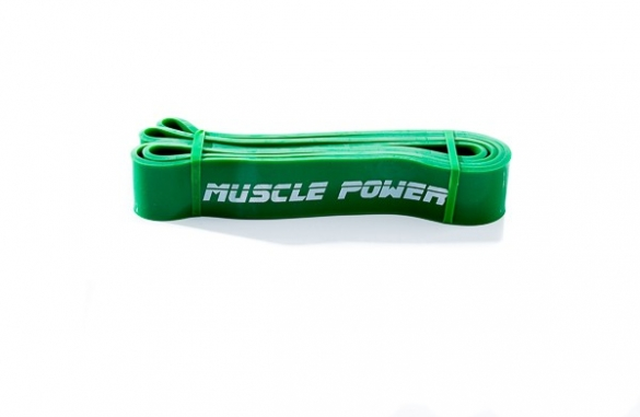 Muscle Power Heavy Power Band MP1401-Groen  MP1401-Groen