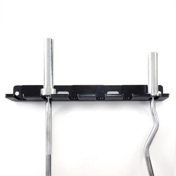 Muscle Power verticale ophangbeugel wandmodel voor 6 olympische Halterstangen  MP11201-6