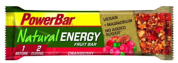 Powerbar Natural Energy Fruit & Nut Bar 24 x 40 gram  PONATENERGYBAR