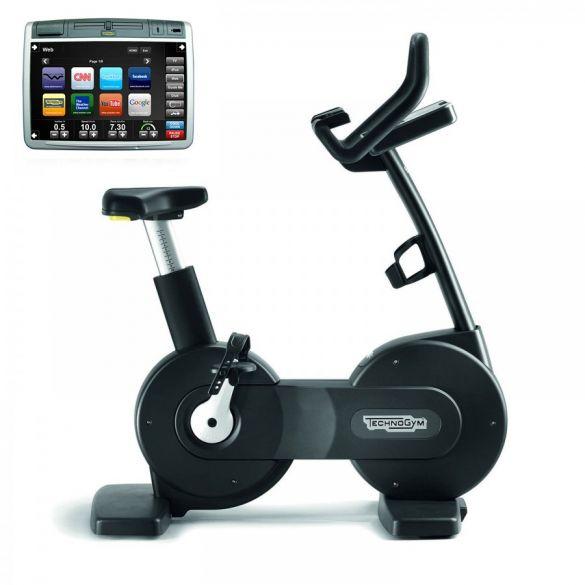TechnoGym hometrainer Bike Excite+ 700 Visioweb zwart gebruikt  BBTGNBE700VLCDTVIZW