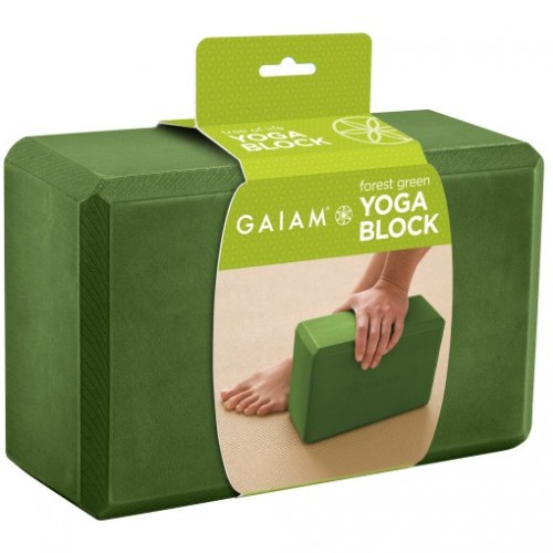 Gaiam Forest green yogablok (G05-57824)  G05-57824