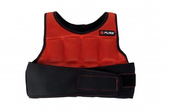 Pure2Improve Gewichtsvest rood/zwart  P2I100140