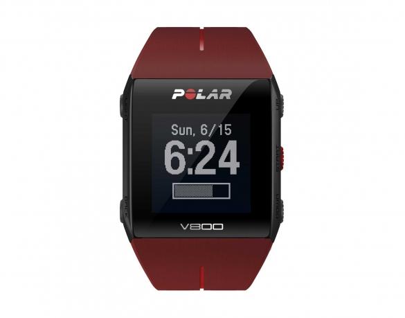 Polar V800 GPS sporthorloge met hartslagsensor rood  PV800rood