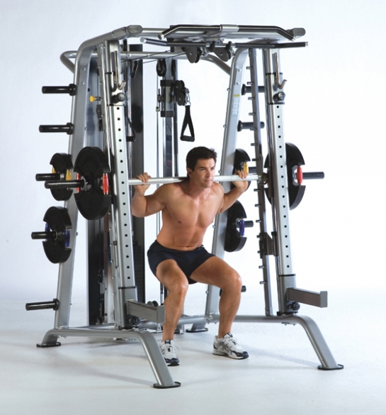 Tuff Stuff Smith Machine RSM-625WS Half Cage Ensemble  RSM-625WS