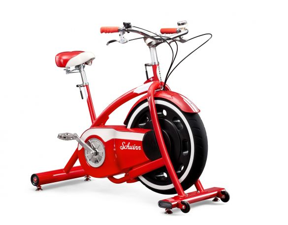 Schwinn hometrainer Classic Cruiser Retro Bike met Bluetooth en Zwift