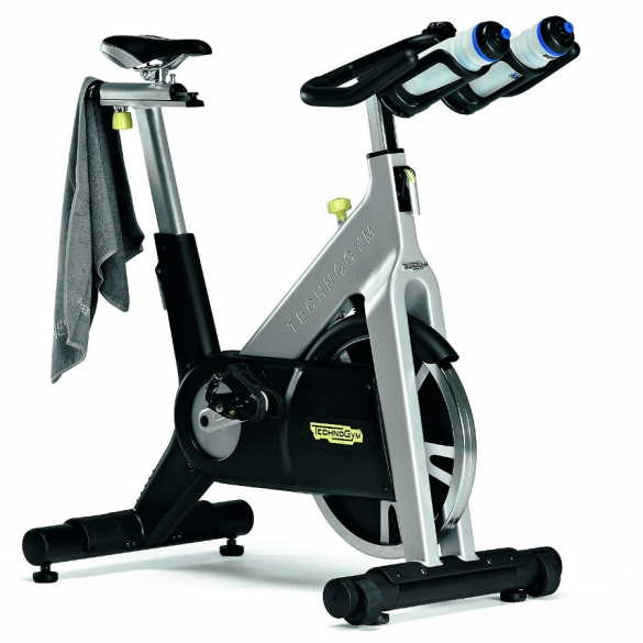 Technogym Spinningbike Group Cycle Riemaandrijving met Console demo  TGGRPCYCLERIEM