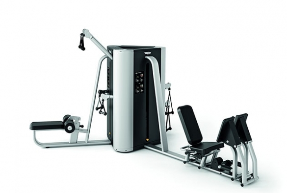 Technogym krachtstation Plurima Tower met leg press  TGTWRLP
