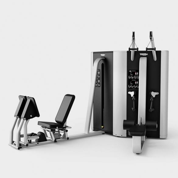 Technogym krachtstation Plurima Twin high low pull - leg press  TGTWINLP