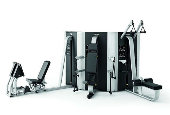 Technogym krachtstation Plurima Wall met leg press  TGWALLLP