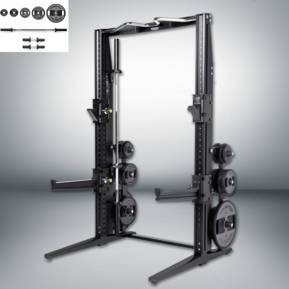 Technogym Rack Personal Dark met 115 KG Power Set  MD15KB