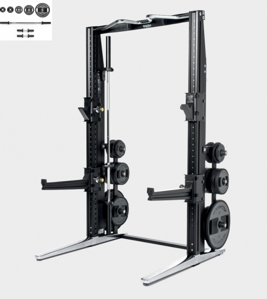 Technogym Rack Personal Chrome met 115 KG Power Set  MD15KA
