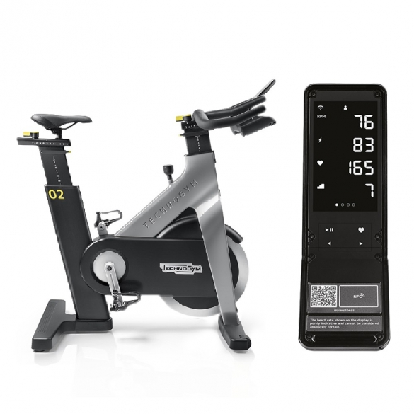 Technogym Group Cycle Connect Light Grey  TGGRPCYCLCNNCTLG