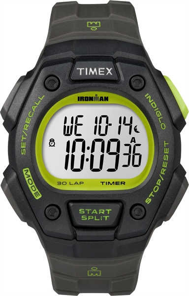 Timex Ironman Core 30 lap Full black lime (T5K824)  00461724