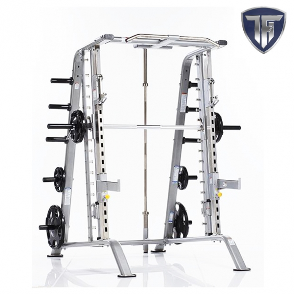 Tuff Stuff Smith Machine CSM-600 Basic Smith-Half Cage  TUFFSTUFFCSM600