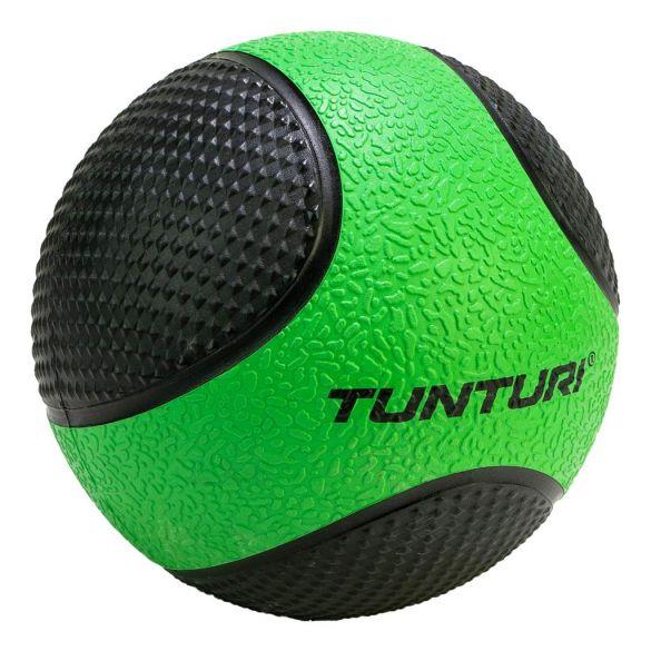 Tunturi Medicine ball 2 kg groen/zwart  14TUSCL402