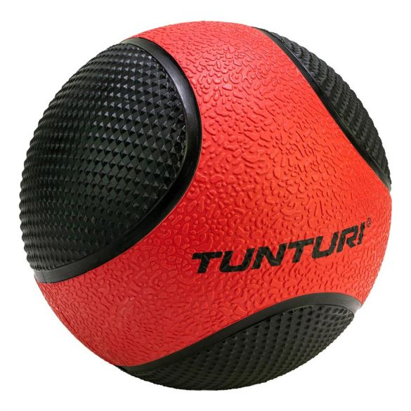 Tunturi Medicine ball 3 kg rood/zwart  14TUSCL403