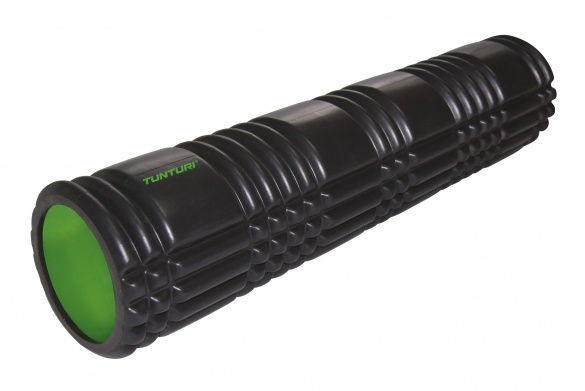 Tunturi Yoga grid foam roller 61 CM Black 14TUSYO014  14TUSYO014