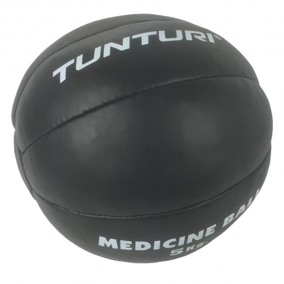 Tunturi Medicinebal Leder 5kg 14TUSBO104  14TUSBO104