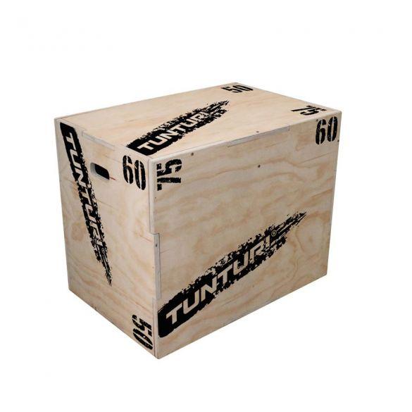Tunturi Houten Plyo Box 50-60-75 cm  14TUSCF078
