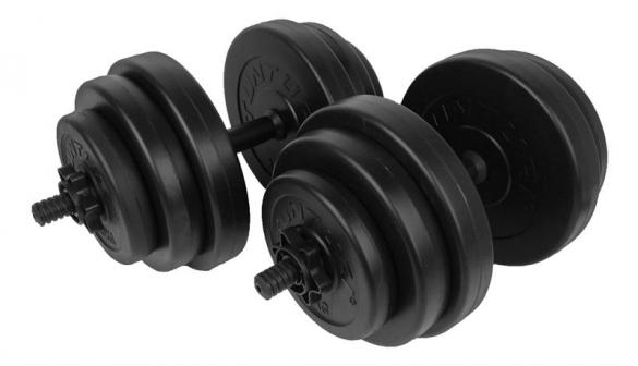 Tunturi Vinyl Dumbbellset 30kg 14TUSCL355  14TUSCL355