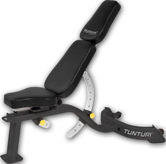 Tunturi Platinum Fully Adjustable Bench   11PTSS1050