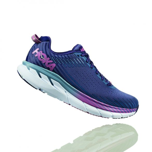 Hoka One One Clifton 5 hardloopschoenen paars dames  1093756MBRB